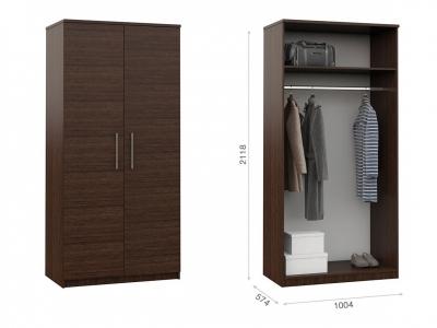 Распашной шкаф Аврора 2дв Венге