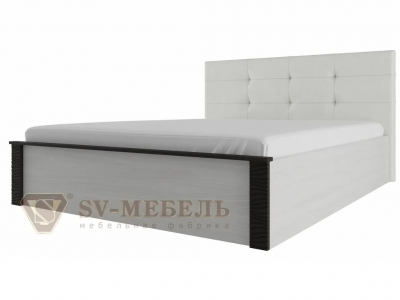 Кровать двойная универсальная мягкая 1400 Гамма 20 Венге без основания