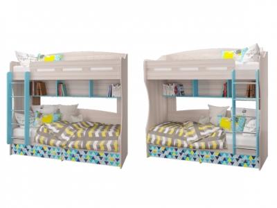 Кровать 2-х ярусная Джимми 2052х1000х1990мм
