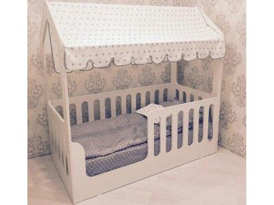 Кроватка-Домик без ящика
