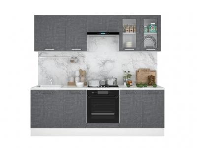 Кухонный гарнитур Лофт 2400 камень арья