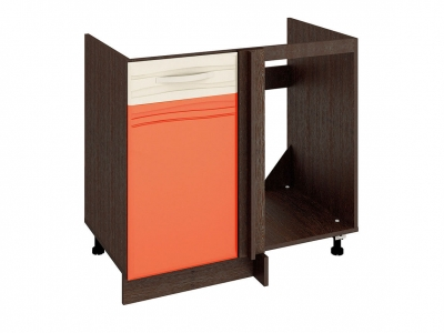 Стол под мойку угловой универсальный 09.52 Оранж 900х530х820