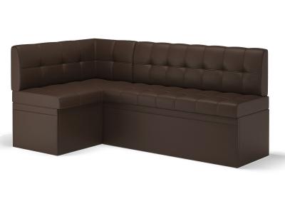 Кухонный диван угловой Остин Эко кожа Reex Brown