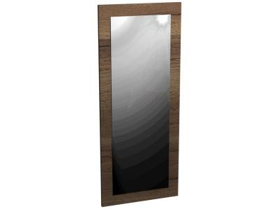 Зеркало Ханна ПХ-9 450х20х1090 Дуб Галифакс Табак