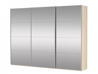Шкаф-купе 3-х дверный Прайм 3 двери зеркало сонома
