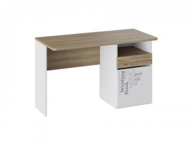 Стол с ящиками Оксфорд ТД-139.15.02 Ривьера, Белый с рисунком