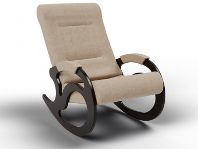 Кресло-качалка Вилла песок